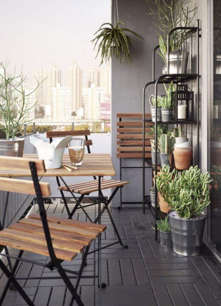 area ristoro balcone piccolo