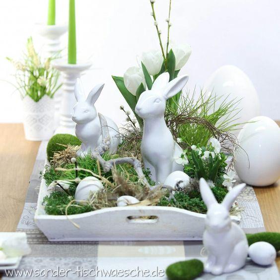 centro-tavola-conigli