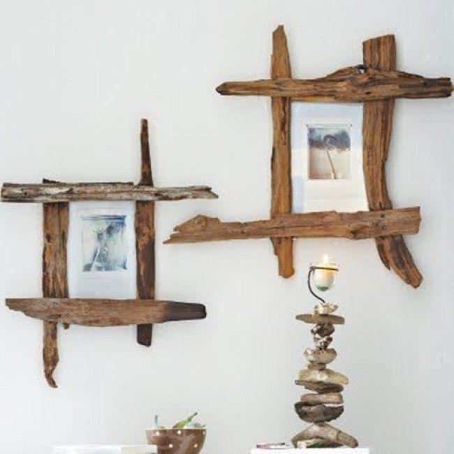 decorazioni fai da te quadro legno