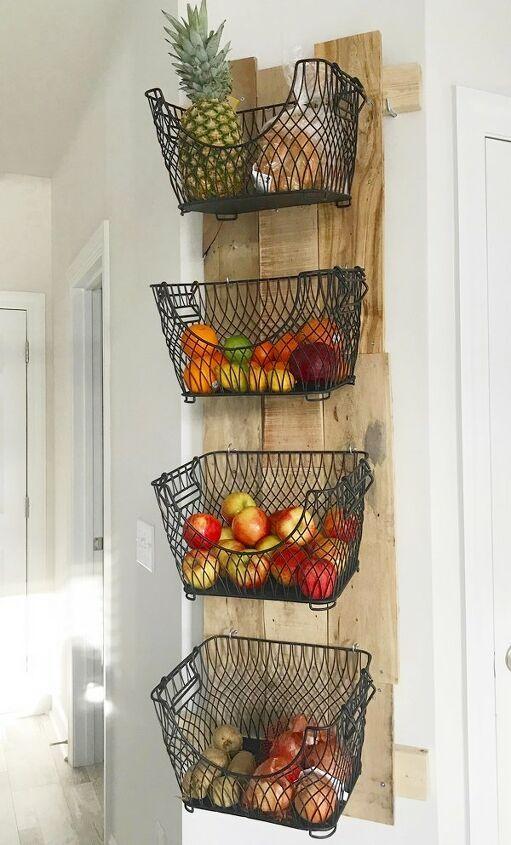 decorazioni fai da te pallet cestini