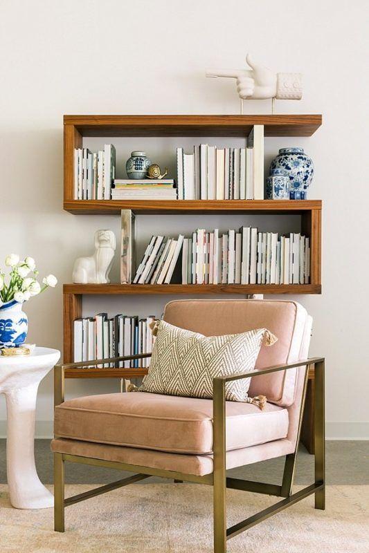 decorazioni fai da te libreria legno