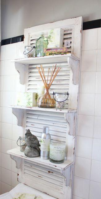 persiana portaoggetti bagno