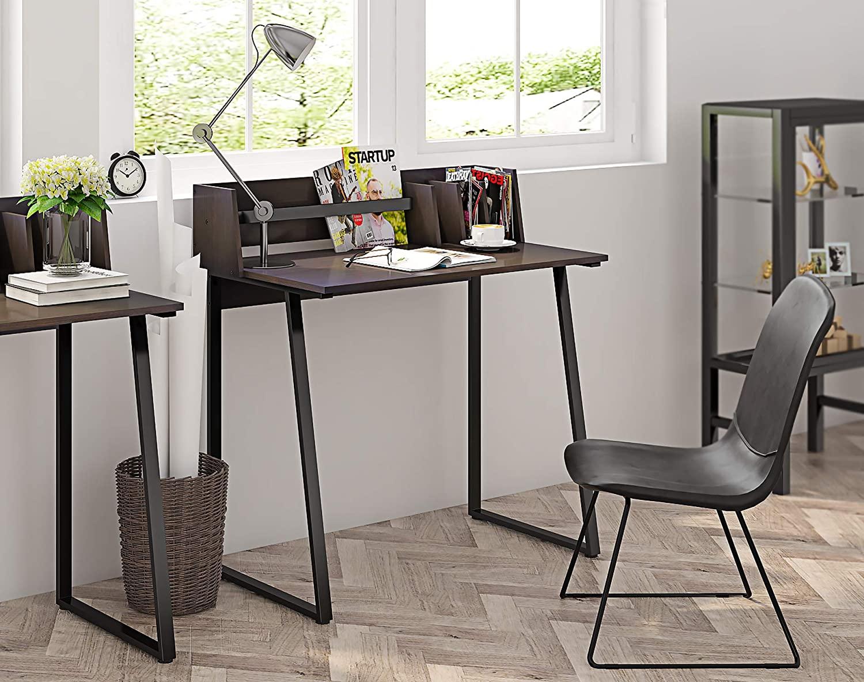 scrivania stile industriale colore nero