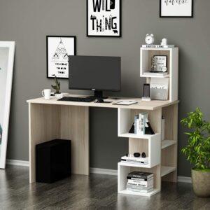 scrivania moderna mensole dinamiche